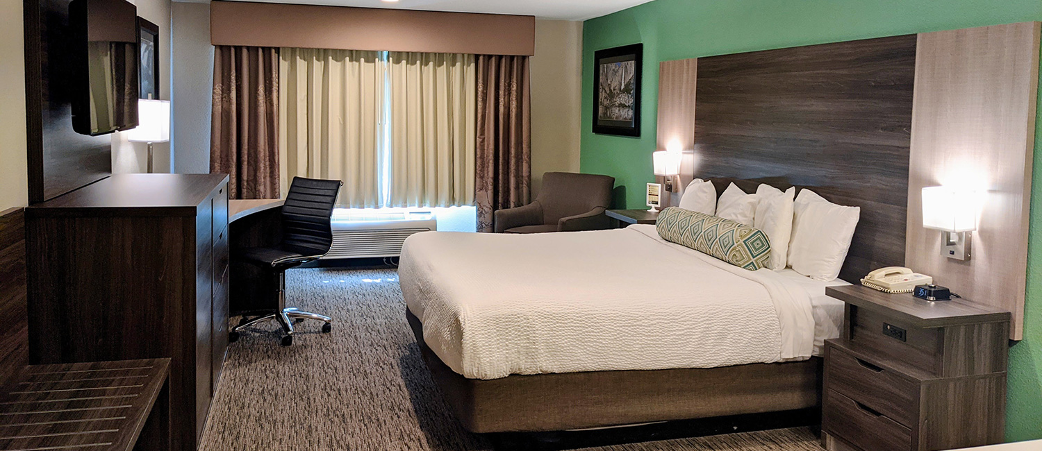 REMODELED GUEST ROOMS WITH KING SIZE BEDS
