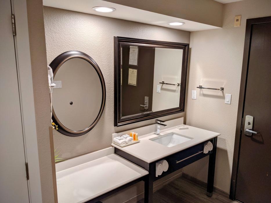 Yosemite Southgate - Bathroom Vanity and Make Up Counter