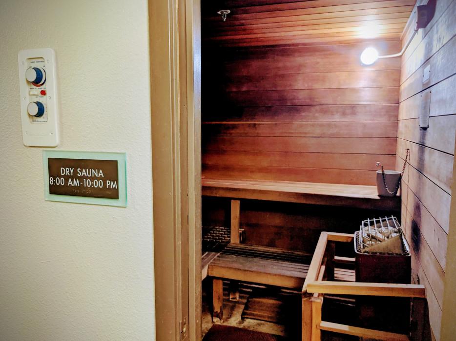 Yosemite Southgate - Dry Sauna at Yosemite Southgate Hotel