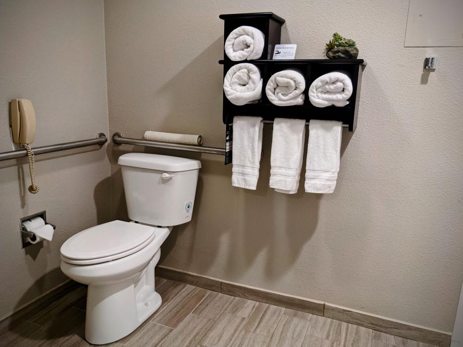 Yosemite Southgate - Grab Bars at Toilet ADA Specifications