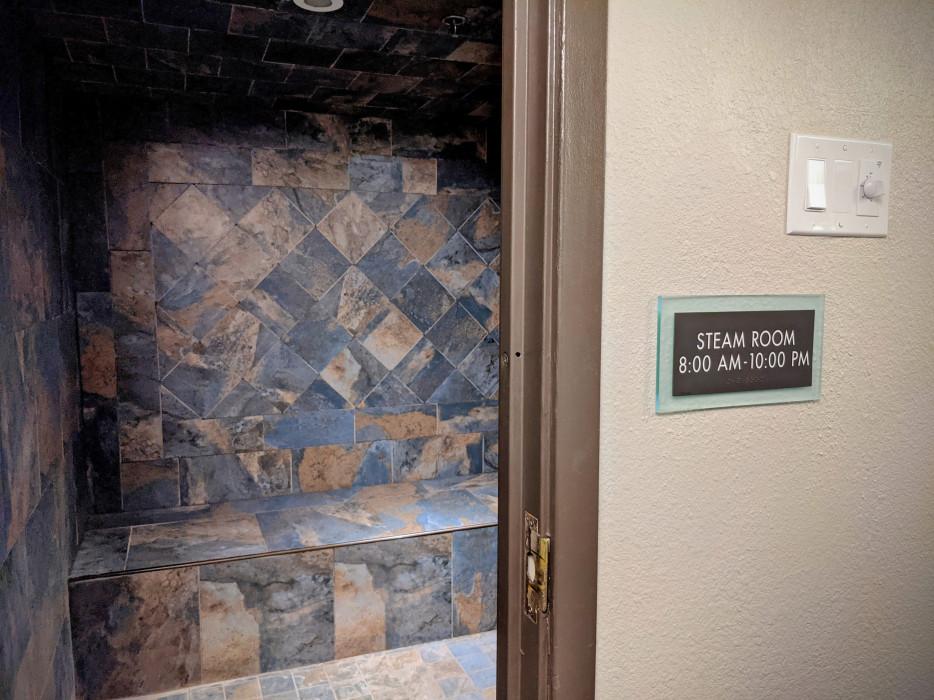 Yosemite Southgate - Steam Sauna at Yosemite Southgate Hotel