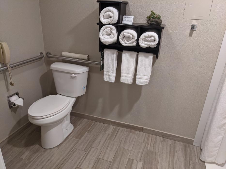 Yosemite Southgate - Wheelchair Accessible Bathroom