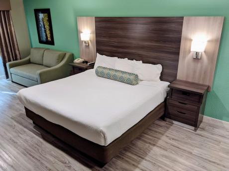 King Standard Guest Room With Sofa Sleeper